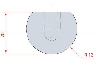 1106: Barre à rayonner R12