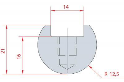 1107: Barre à rayonner R12.5