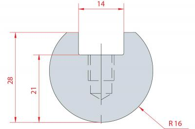 1110: Barre à rayonner R16