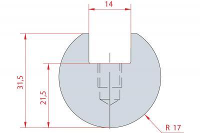 1111: Barre à rayonner R17
