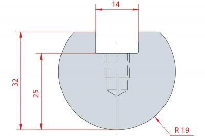 1112: Barre à rayonner R19