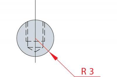 1180: Barre à rayonner R 3