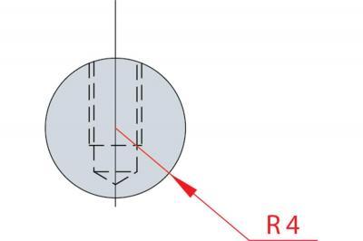 1182: Barre à rayonner R 4