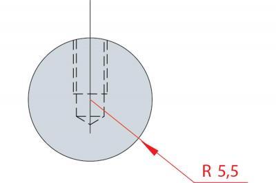 1185: Barre à rayonner R 5.5