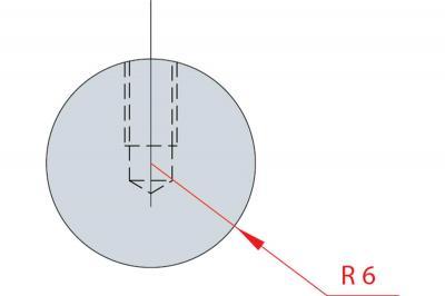 1186: Barre à rayonner R 6