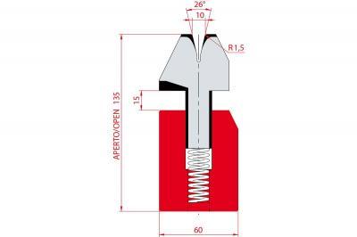 3038: Matrice à écraser, V10 à 26°