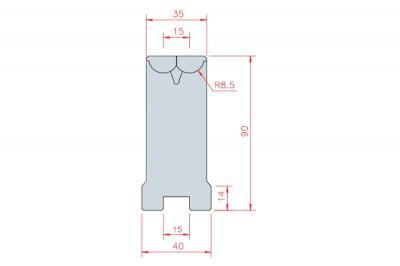 3304: matrice Active Bend 15-35 Amada Promecam