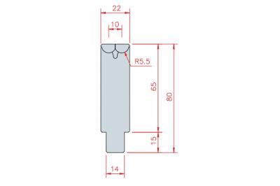 3306: matrice Active Bend 10-22 Amada Promecam