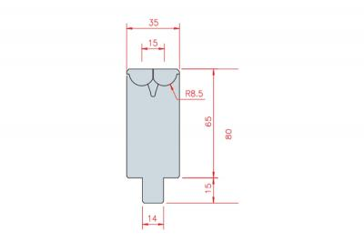 3307: matrice Active Bend 15-35 Amada Promecam