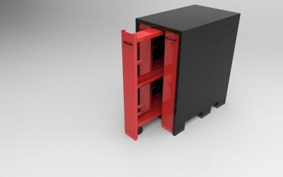 ARM-A3: armoire de rangement Amada 3 tiroirs