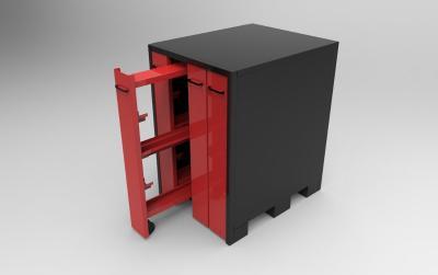 ARM-W4: armoire de rangement Wila 4 tiroirs