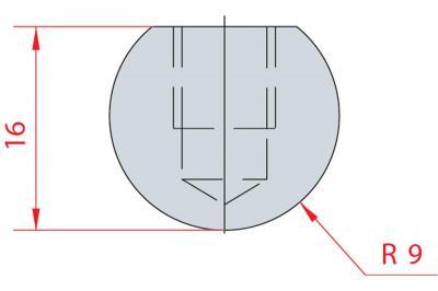 1103: Barre à rayonner R9