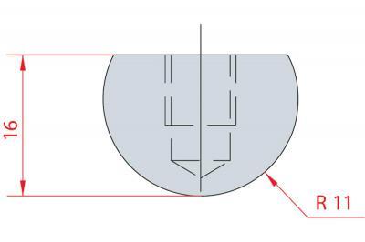1104: Barre à rayonner R11