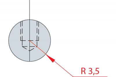 1181: Barre à rayonner R 3.5