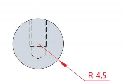1183: Barre à rayonner R 4.5