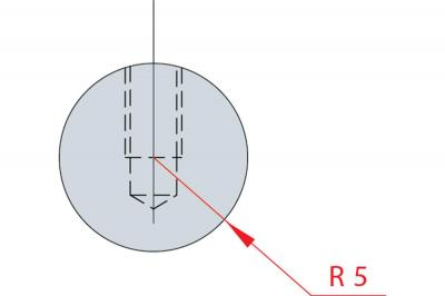 1184: Barre à rayonner R 5