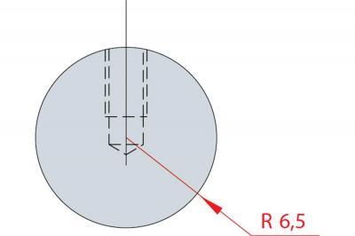 1187: Barre à rayonner R 6.5