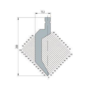 1323: Poinçon 86° r1 h200