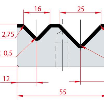 2014: Matrice Amada Promecam à 2V 88°