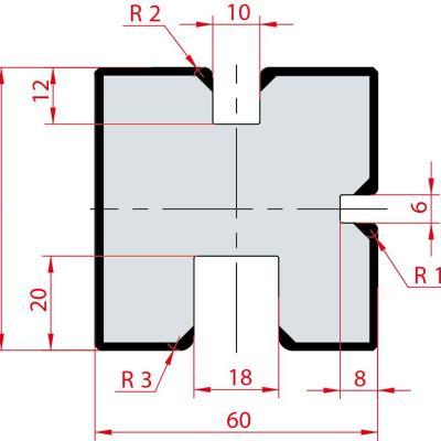 2031: Matrice Amada MultiU 6 - 10 - 18 + PLAT