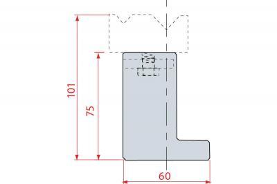 2035: Réhausse 75 mm