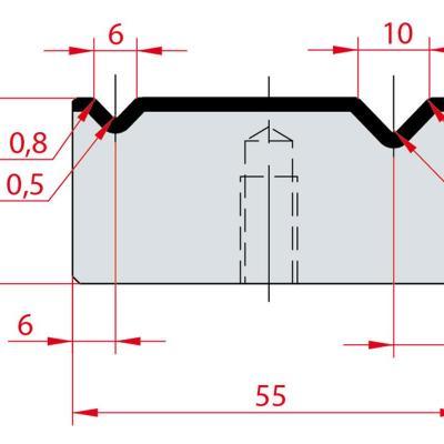 2046: Matrice Amada Promecam à 2V 88°