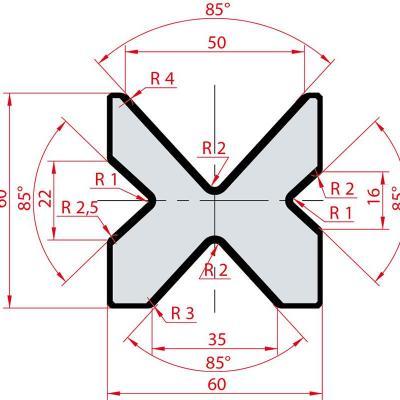 2067: Matrice Amada MultiV 16 - 22 - 35 - 50