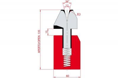 3040: Matrice à écraser, V12 à 26°