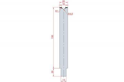 3145: Matrice Trumpf Wila V:10 à 86° H: 150