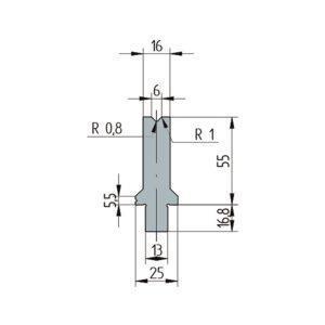 3250: Matrice Wila original V:6 à 86° H: 55