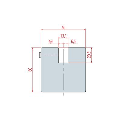 4302: Adaptateur matrice Beyeler ou Trumpf pour machine Amada Promecam