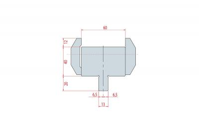 4303: Adaptateur matrice Amada pour machine Beyeler ou Trumpf
