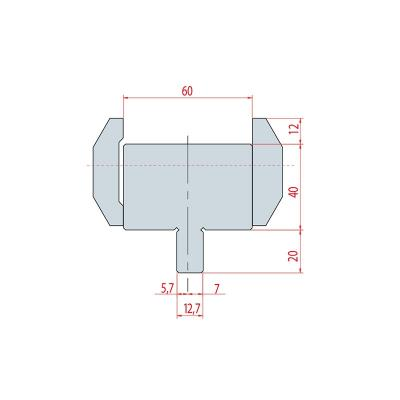 4304: Adaptateur matrice Amada pour machine LVD  - WILA