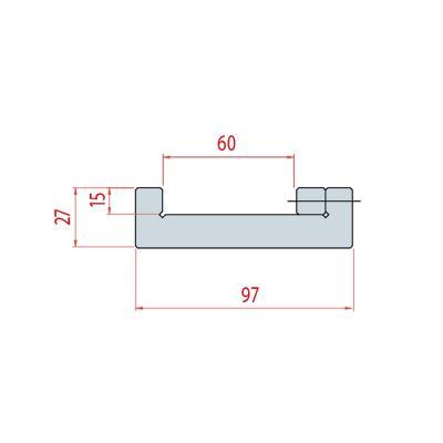 9011: semelle matrice 2600 mm