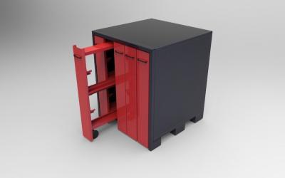 ARM-W5: armoire de rangement Wila 5 tiroirs